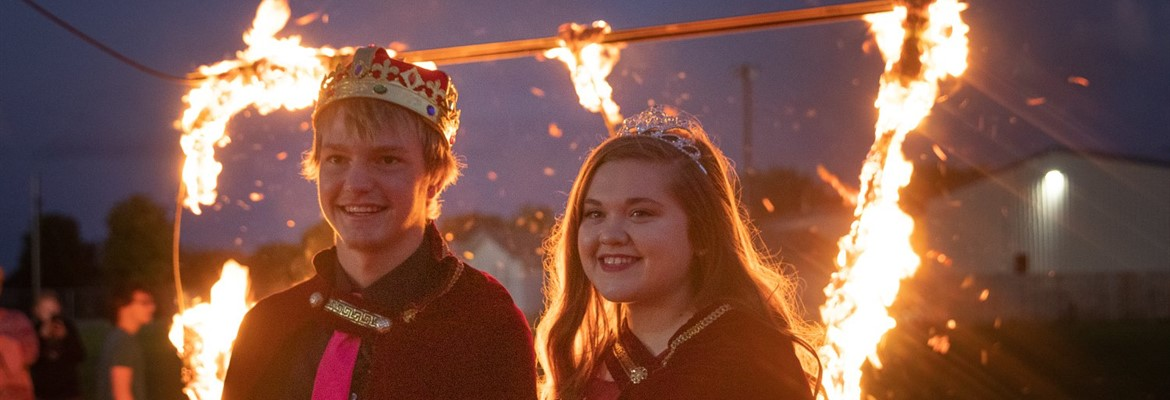 King Robbie and Queen Sally